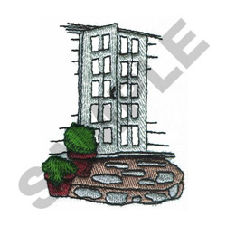 GARDEN DOOR embroidery design
