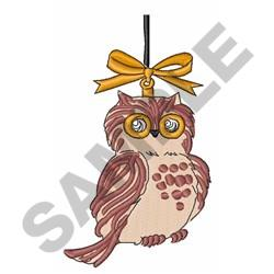 Woodland Owl embroidery design