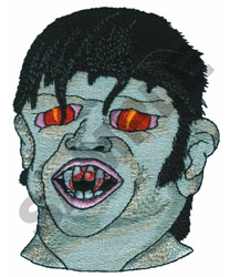 WOLFMAN embroidery design