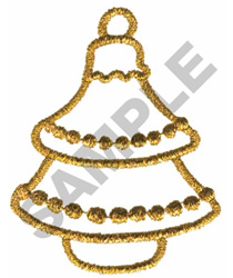 METALLIC ORNAMENT embroidery design