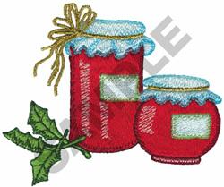 JARS OF JAM embroidery design
