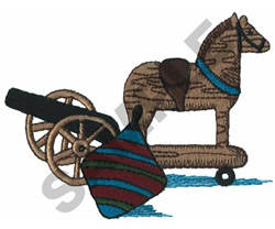 OLD FASHIONED TOYS embroidery design
