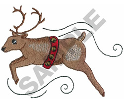 REINDEER embroidery design