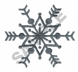 SNOWFLAKE embroidery design