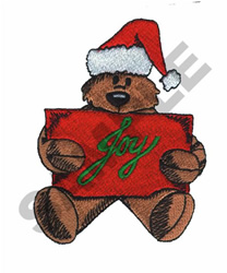 CHRISTMAS BEAR embroidery design