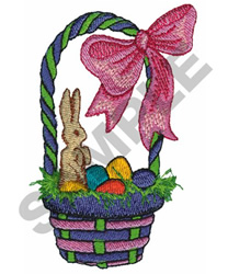 EASTER BASKET embroidery design