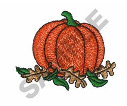 PUMPKIN embroidery design