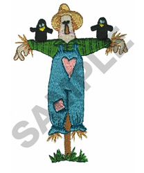 SCARECROW embroidery design