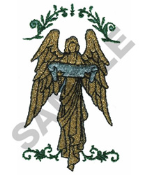 ANGEL CREST embroidery design