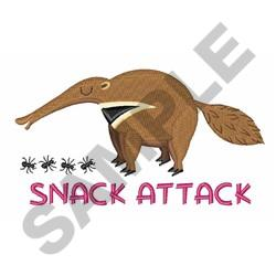 Snack Attack embroidery design