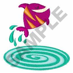Piranha Fish embroidery design