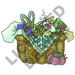 QUILTERS BASKET embroidery design