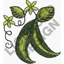 PEA PODS embroidery design