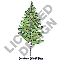 SOUTHERN SHIELD FERN embroidery design