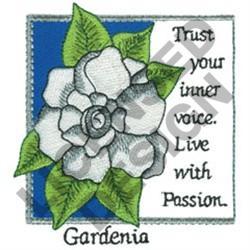 INSPIRATIONAL GARDENIA embroidery design