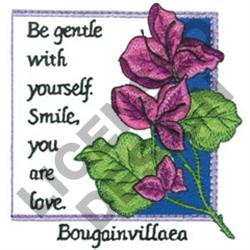 INSPIRATIONAL BOUGAINVILLAEA embroidery design