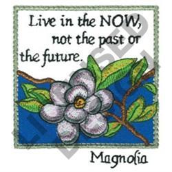 INSPIRATIONAL MAGNOLIA embroidery design
