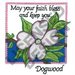 INSPIRATIONAL DOGWOOD embroidery design