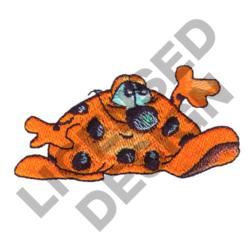 SHORT SPOTTED MONSTER embroidery design