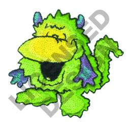 LAUGHING MONSTER embroidery design