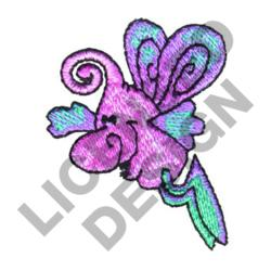 WINGED MONSTER embroidery design