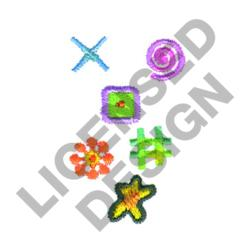SMALL ABSTRACT DESIGNS embroidery design