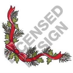 CHRISTMAS GARLAND BORDER embroidery design
