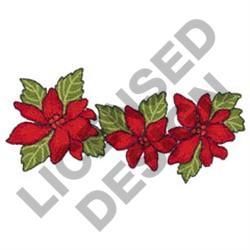 POINSETTIA BORDER embroidery design