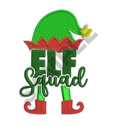 ELF SQUAD embroidery design