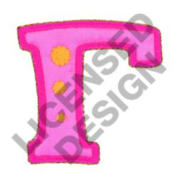 GREEK LETTER GAMMA embroidery design