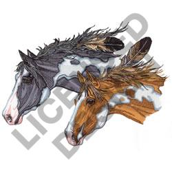 PAINT HORSES embroidery design