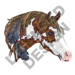 PAINT HORSE embroidery design