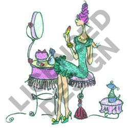 LULU PRIMPING embroidery design