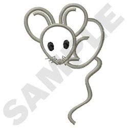 Little Mouse embroidery design
