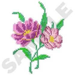 Flower Cross Stitch embroidery design