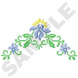 Cross Stitch Corner embroidery design