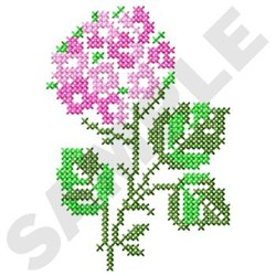 Cross Stitch Blossom embroidery design