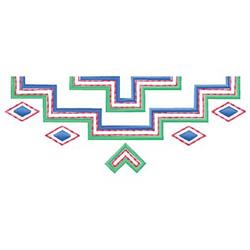 Geometric Design embroidery design