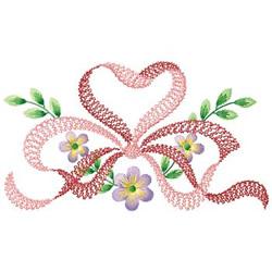 Bow Design embroidery design