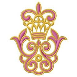 Crest Design embroidery design
