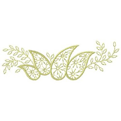 Paisleys embroidery design