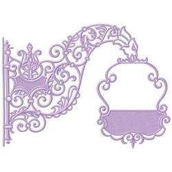 Scroll Design embroidery design