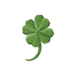 Four Leaf Clover embroidery design