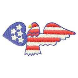 U S A Eagle embroidery design
