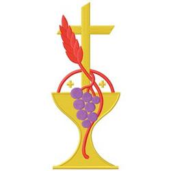 Communion embroidery design