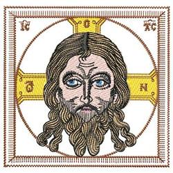 Jesus Picture embroidery design