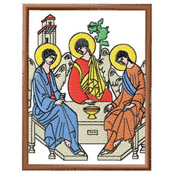 Angel Scene embroidery design
