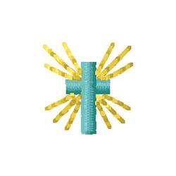 Cross embroidery design