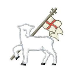 Lamb Of God embroidery design