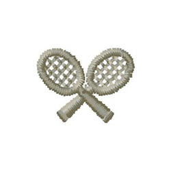 Racquets embroidery design